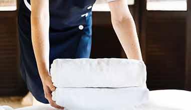 Reinigungs und Wäscheservice